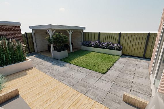 Creëer diverse zitplekken in uw tuin
