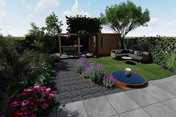 Combineer alles in uw tuin