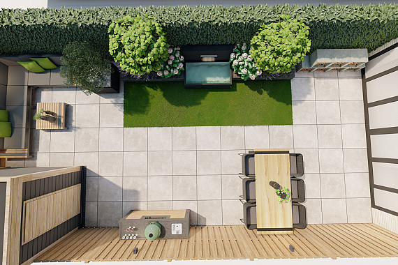 Nieuwbouw tuin optimaal benut